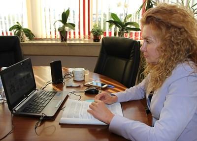 Заместник-министъра на регионалното развитие и благоустройството Деница Николова СНИМКИ: МРРБ