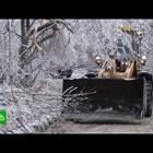 Хиляди без ток и отопление в рускияДалечен изток след ледена буря (Видео)