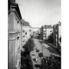 Поглед към улицата от 40-те години СНИМКА: АРХИВ НА ПЕЙО КОЛЕВ
