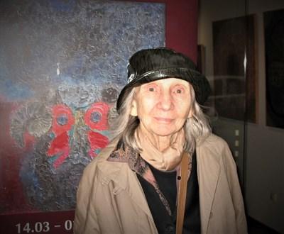 Веса Василева - една от последните снимки на художничката
