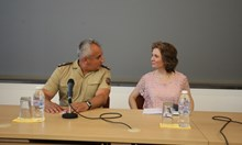 Предпремиера на книгата пред военни и разузнавачи