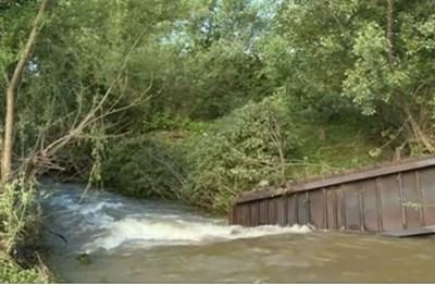 Мостът, от който е паднало детето КАДЪР: БНТ