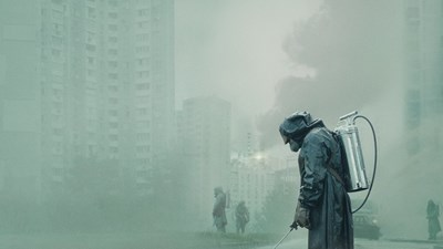 """Кадър от сериала на HBО """"Чернобил"""""""