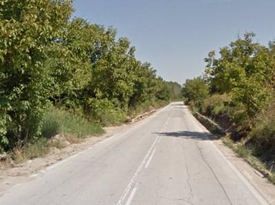 Пътят Мизия - Оряхово СНИМКА: Google Street View