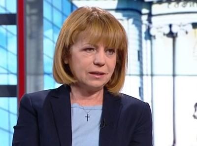 Йорданка Фандъкова Кадър: БНТ