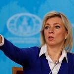 Говорителката на руското Министерство на външните работи Мария Захарова