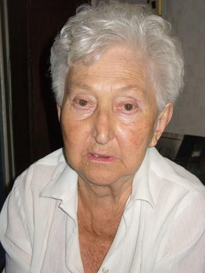 Дъщерята на Димитрина Ковачева и внучка на генерал Стилиян Ковачев Оля Николчева си отиде на 92 години.  Снимка: Ваньо Стоилов