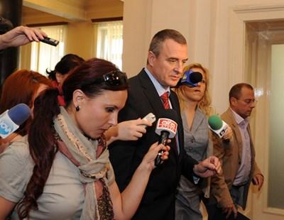 Вицепремиерът Цветлин Йовчев свика вчера спецслужбите заради кризата в Украйна. СНИМКА: Николай Литов