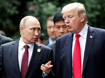 Владимир Путин и Доналд Тръмп СНИМКА: Ройтерс