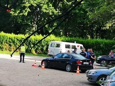 Колата, с която румънецът прегази малката Радослава СНИМКА: Лиляна Трънкова