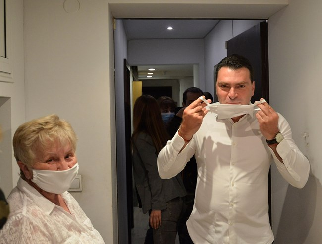 """Калоян Паргов бе в централата на """"Леге"""" 10, въпреки че си бе направил тест 2 дни по-рано."""