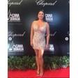 Дарина Павлова с мини-и с прозрачна рокля на филмов фестивал
