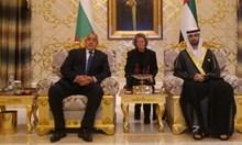 Бойко Борисов при шейховете  на Обединените арабски емирства