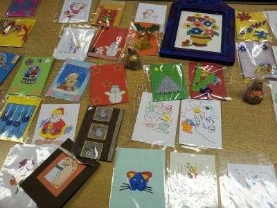 """Децата от градини и училища в """"Северен"""" са изработили картички и украси"""