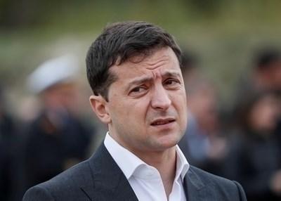 Украинският президент Владимир Зеленски СНИМКА: Ройтерс