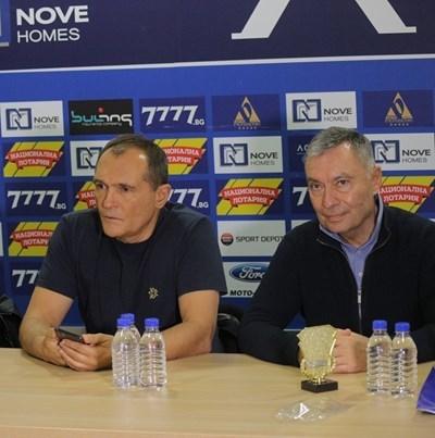 Васил Божков и Георги Попов
