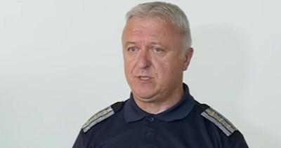 Шефът на Охранителна полиция в СДВР комисар Радослав Стойнев