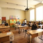 Ученици от 30 СУ в София на матурата Снимки: Николай Литов