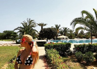 Антония Петрова си пусна снимки от Тунис СНИМКИ: инстаграм/antonia_petrova_/