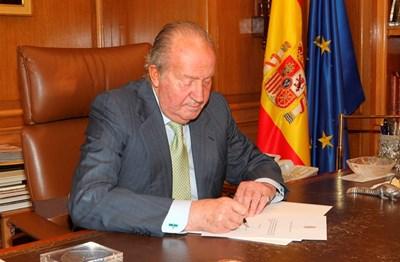 Бившият испански крал Хуан Карлос Снимка: Ройтерс