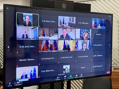 """На форум на високо ниво министрите на туризма на ЕС обсъдиха актуалните проблеми и перспективи пред развитието на устойчив туризъм и създаването на стратегическия """"Дневен ред 2030/2050"""", съобщиха от Министерството на туризма. Снимка: МТ"""