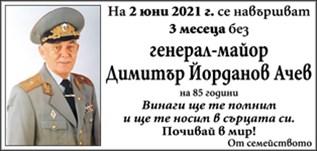 Генерал-майор Димитър Ачев