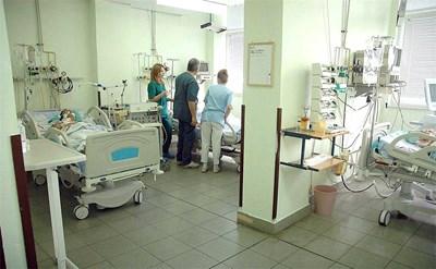 """В реанимацията на болницата """"Св. Георги"""" се лекуват най-тежко болните пациенти. СНИМКА: Наташа Манева"""
