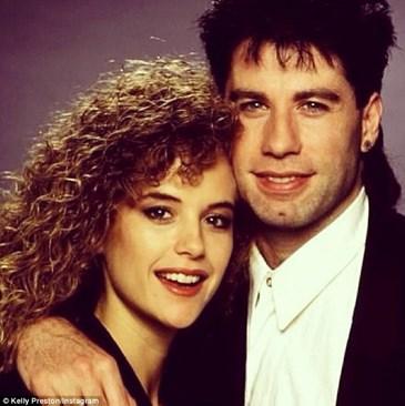 С жена си Кели Престън току-що оженени