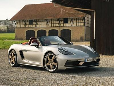 Специален Porsche Boxster 25 Year Edition