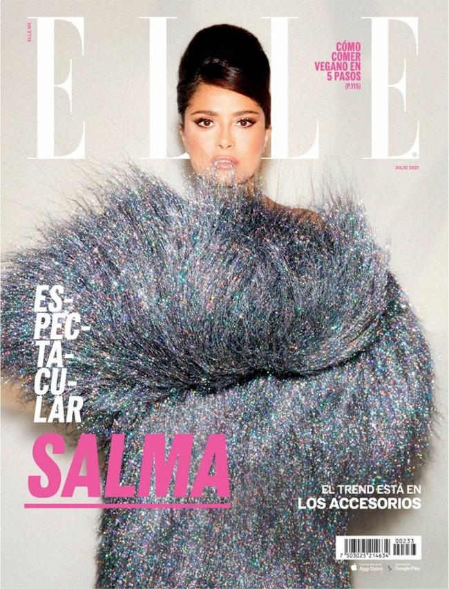 Салма Хайек е на юлската корица на списание Elle Mexico