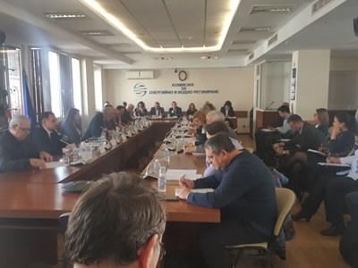 Работен момент от общественото обсъждане СНИМКА: Христо Николов