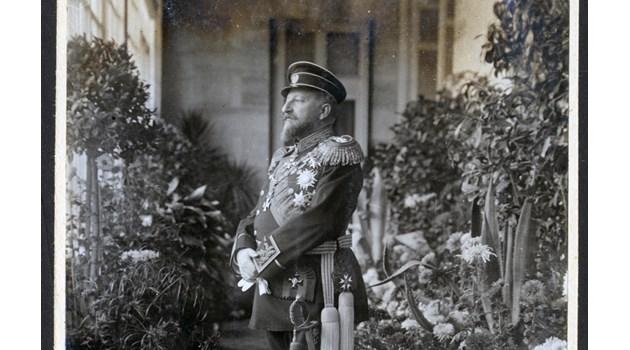 Фердинанд води Вилхелм II при армията ни, за да я поздрави за победите