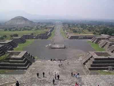 Теотиуакан Снимка: Уикипедия