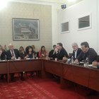 """Представянето на законовите промени напълни зала """"Изток"""" на Народното събрание."""