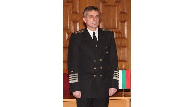 Адмирал Ефтимов ще е новият шеф на отбраната