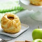 Канелени бутер банички с ябълка