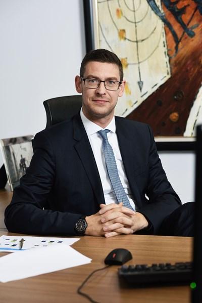 Кристоф Де Мил, иновационен лидер и финансов директор на KBC Груп в България