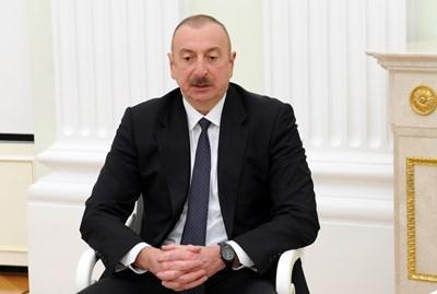 Азербайджанският президент Илхам Алиев