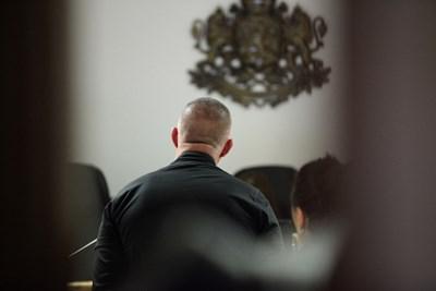Съдия Ваня Горанова пусна Петков срещу гаранция от 3000 лв.  СНИМКА: ЙОРДАН СИМЕОНОВ