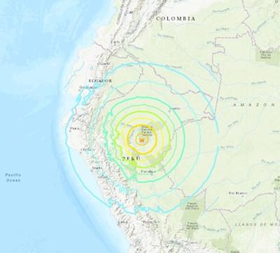 КАДЪР: earthquake.usgs.gov