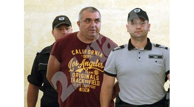 Отложиха делото за преместването на Куйович на по-тежък режим в затвора