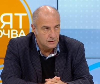 Д-р Любомир Киров, председател на Сдружението на общопрактикувашите лекари КАДЪР: БНТ