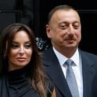 Президентът Илхам Алиев и първата дама Мехрибан Алиева