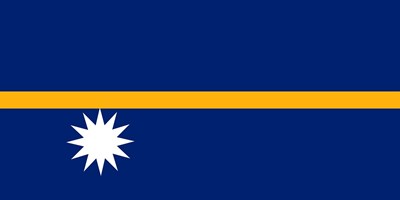 Това е флагът на Науру СНИМКА: Пиксабей