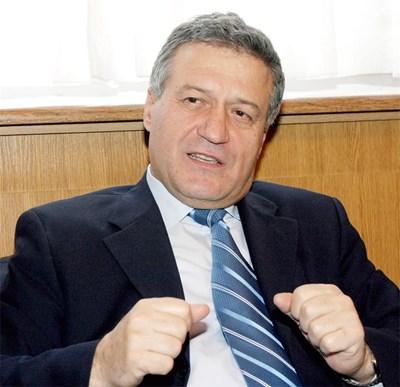 Ангел Марин, бивш вицепрезидент на Република България  СНИМКА: ПАРСЕХ ШУБАРАЛЯН