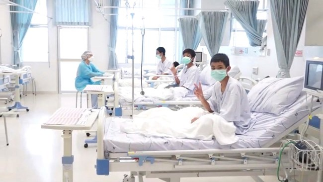 Shots For Thailand >> See The First Shots From Thailand Rescued Children S Hospital Video