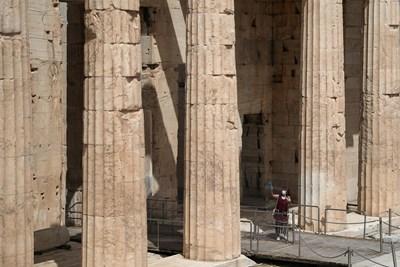 Туристическите забележителности в Атина вече са отворени. СНИМКА: РОЙТЕРС