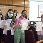 Ученици превзеха съдебните зали в Пловдив (снимки)