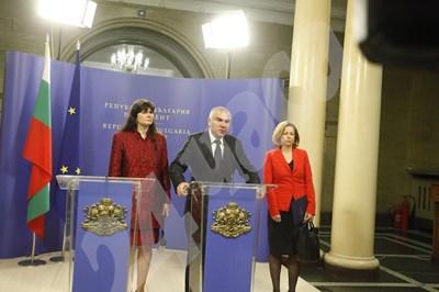 Марешки: Скорошни избори са пагубни за държавата. Снимка: Йордан Симеонов СНИМКА: 24 часа