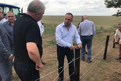 До десет дни трябва да бъде завършена телената ограда, която да спира движението на глиганите.